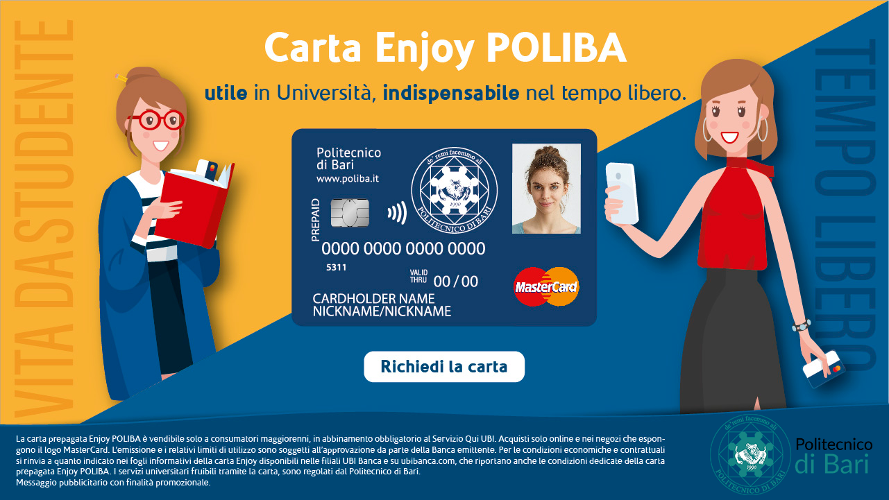 Carta Enjoy Poliba